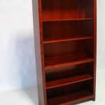 Red Oak Shaker Bookcase Early American Stain 31-3872-13