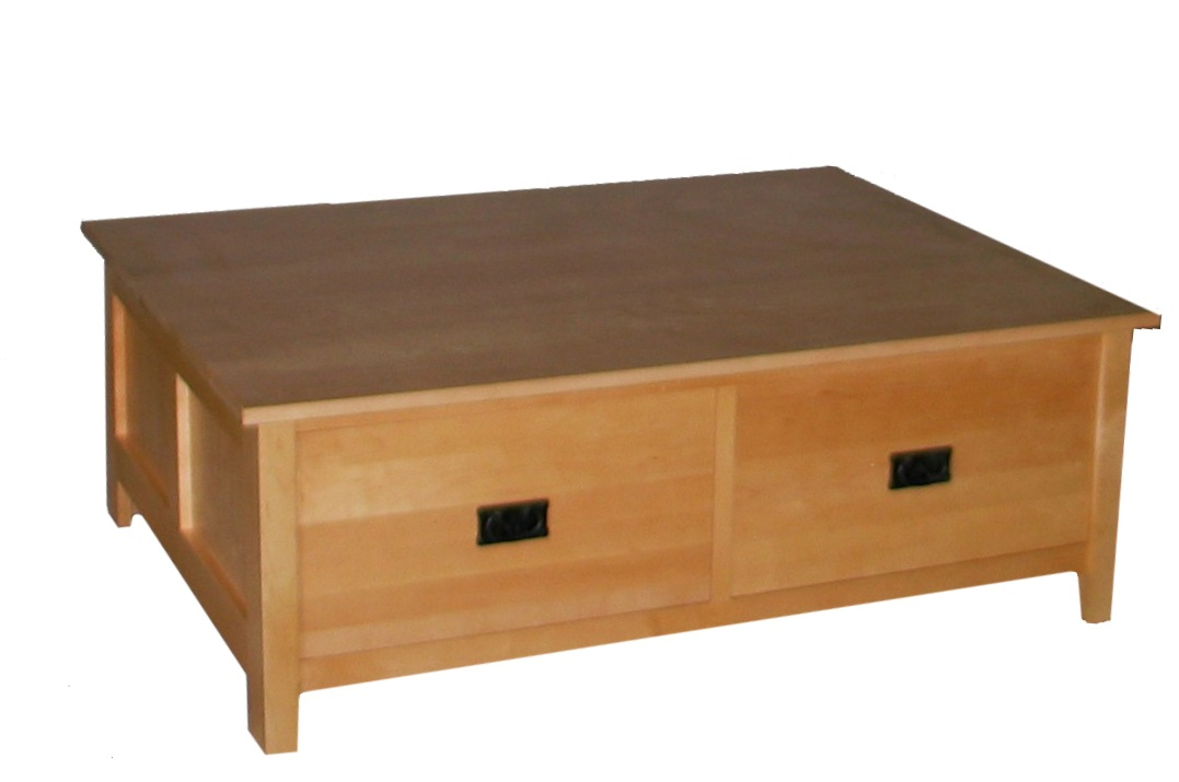 Golden Square Coffee Table