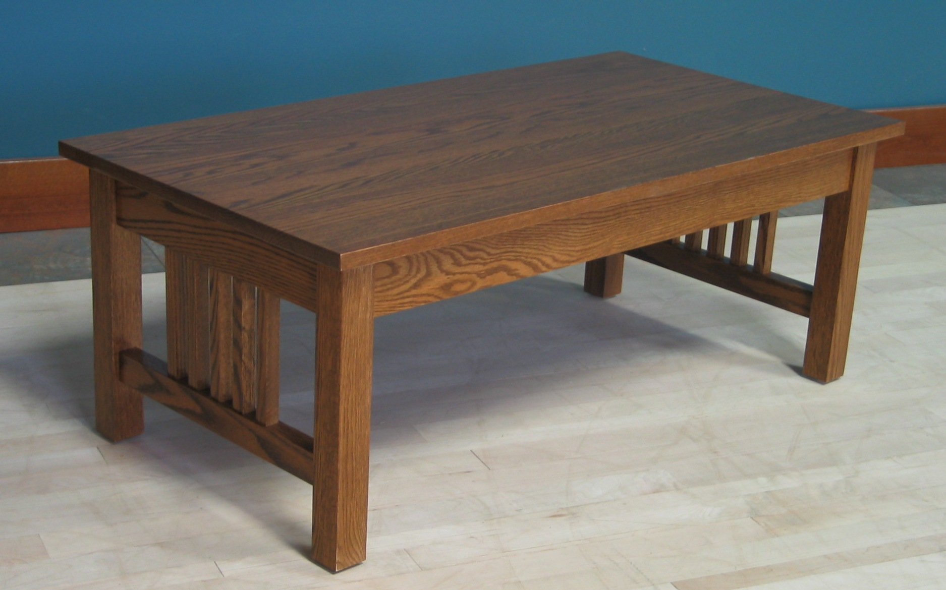 Oak Coffee Table.Coffee Table W 2 Drawers