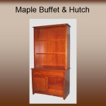 Maple Buffet & Hutch