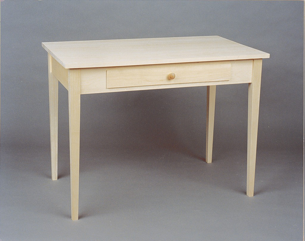 415 Series Shaker Desk Unfinished