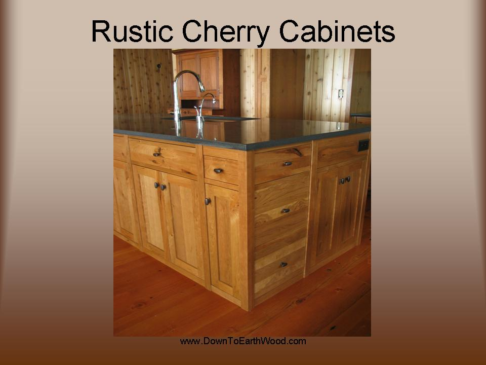 Attrayant Rustic Cherry Kitchen Cabinets